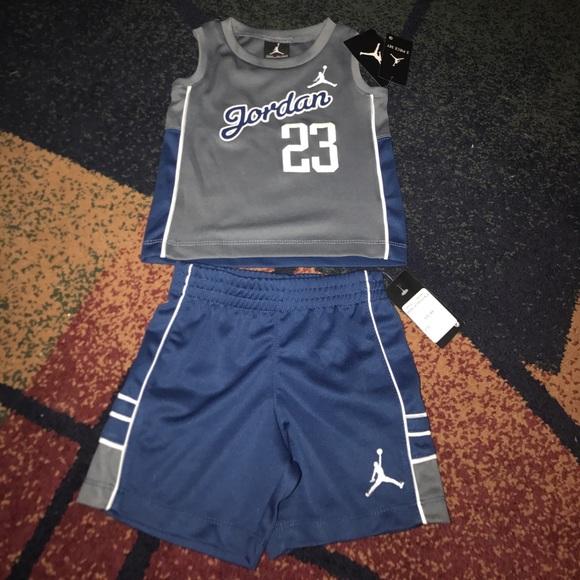 cd6d1e688b5c Boys Nike baby set 24 months tank top shirt shorts