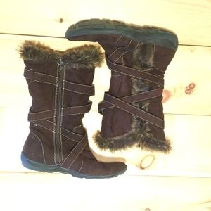 "NaturalSoul ""boots with the fur"""