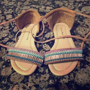 Other - Beautiful beaded toddler girls sandal.