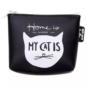 Handbags - Home Is Where My Cat Is Coin Purse