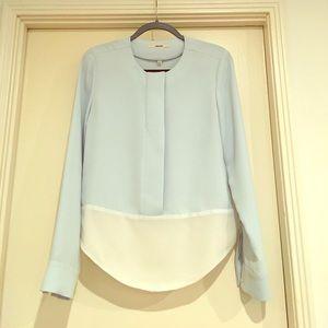 J Brand light blue blouse size M