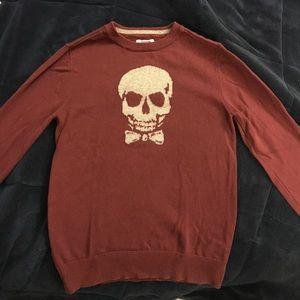 Boys Skull sweater size 6/7