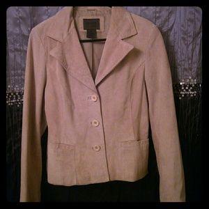 $22c. Soft & Supple Leather Blazer