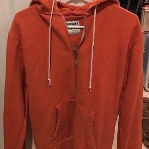Orange old navy hoodie
