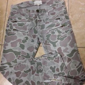 Current Elliott Camo Jeans