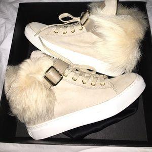 Rachel Zoe Brylan Fur Sneakers