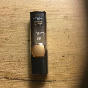 Gold lipstick