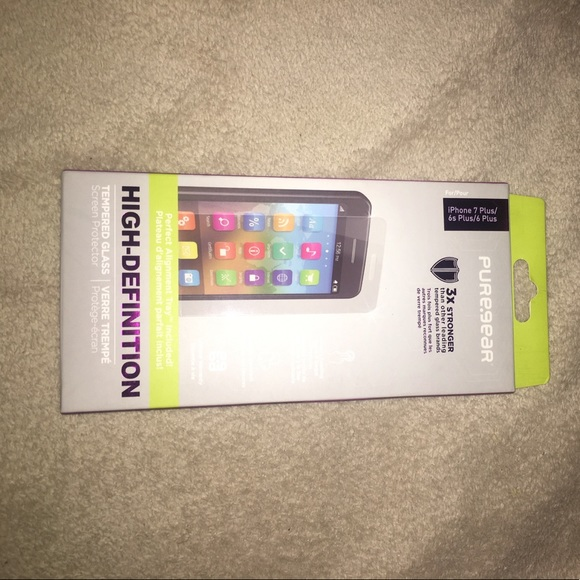 27ef402ba2d Other | Puregear Screen Protector Iphone 7 Plus 66s Plus | Poshmark