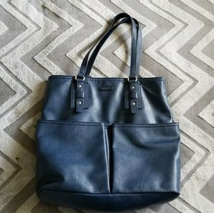Relic navy blue handbag