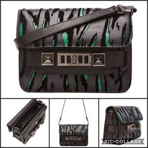Proenza Schouler mini ps11 classic Moire print bag
