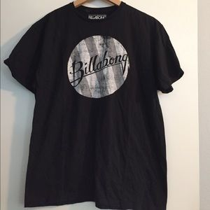 Black Billabong men's t shirt size large
