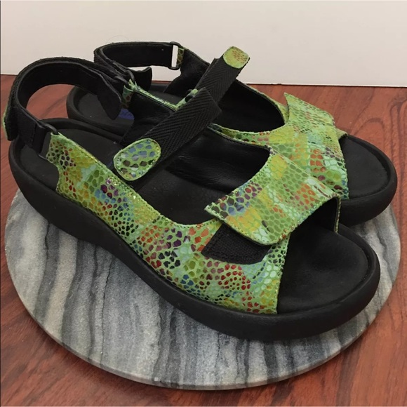 96dc797a78 WOLKY Size 10 Jewel Green Active Walking Sandals.  M 59f66ed4ea3f362a86081b3c. Other Shoes you ...