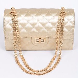 Fashion Quilted Satchel Bag