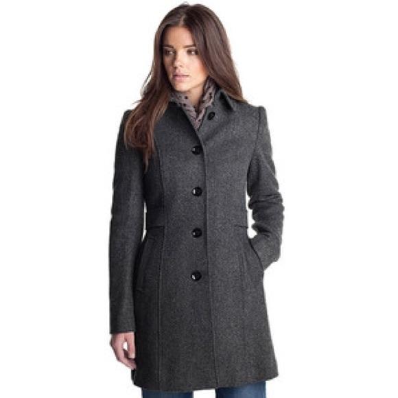 8b5e57f7cfd2 Esprit Jackets & Blazers - ESPRIT • Women's Wool Blend Hooded Coat