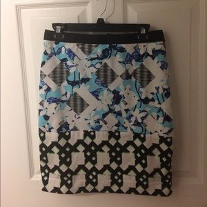 Peter Pilotto for Target patterned skirt