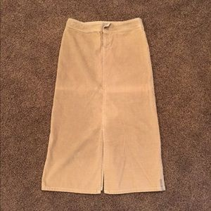 Billabong Long Tan Brown Skirt