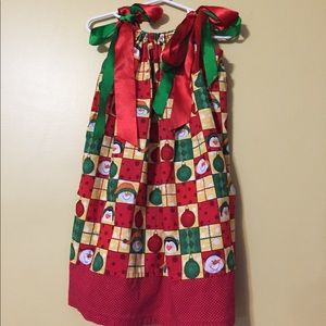 Other - 🎉HP🎉 Pillowcase Girls Holiday Dress