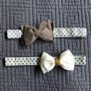 Pair of Boutique Infant Headbands