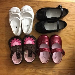 Baby girl toddler shoes Nordstrom stride rite 4 5