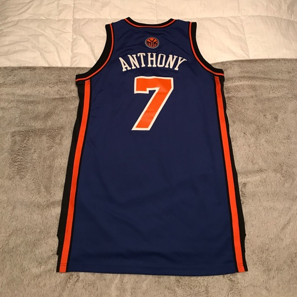 first rate aef9f e1be9 New York Knicks Carmelo Anthony Replica Jersey