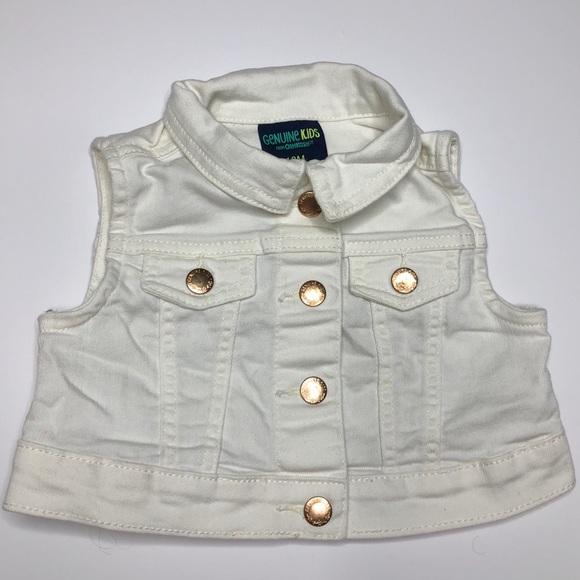Genuine Kids Other - 4 FOR 20 - Genuine Kids White Denim Vest