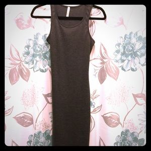 Dresses & Skirts - Charcoal grey body con dress