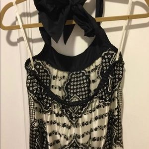 0dcf3d0ce Twelfth St. by Cynthia Vincent Dresses - Adorable designer silk halter dress
