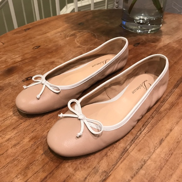 8c2c0cbf4c43d Delman Shoes | Fayth Nude Ballerina Flats 75 | Poshmark