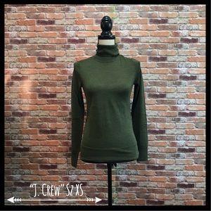 NWT J. Crew Merino Wool Turtleneck Sweater