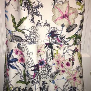7707c64fa8f Ted Baker Dresses - Ted Baker Samm Passion Flower Skater Dress- Size 1