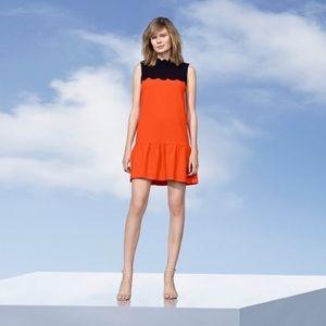 Orange Drop Scalloped Victoria Beckham for Target