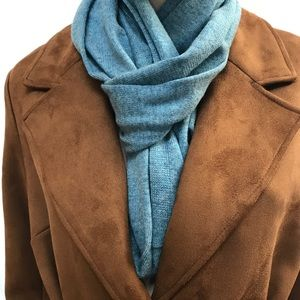 Accessories - Blue wool scarf