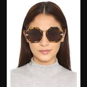 Karen Walker Woman's Moon Disco Octagonal Sunglas
