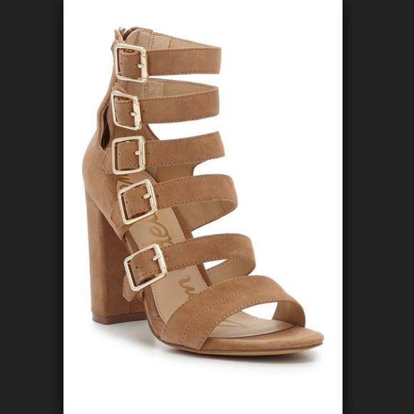 890ddf20b89f Sam Edelman Yasmina Buckle Strap Gladiator Sandal.  M 59f68afc2ba50a9e1b08a958