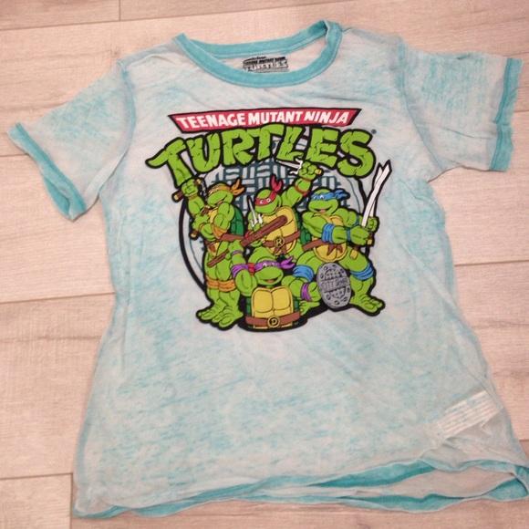 065b86268 Nickelodeon Tops | Womens Teenage Mutant Ninja Turtles Tee | Poshmark