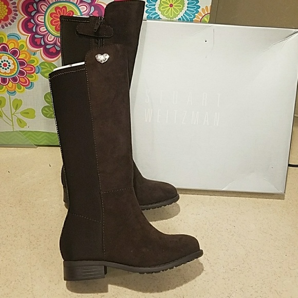 biggest discount details for official shop Stuart Weitzman 50/50 Boots toddler size 7 NEW