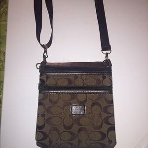 SOLD•Crossbody coach bag