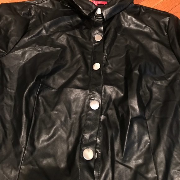 Tamar Collection Tops - Leather shirt