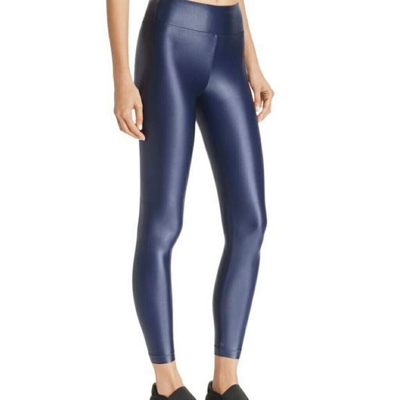 c6b94673b757b Koral Pants | Reducednew High Rise Lustrous Blue Leggings | Poshmark