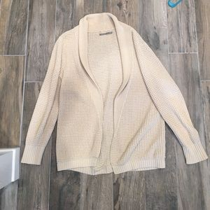 Rubbish open front chunky sweater