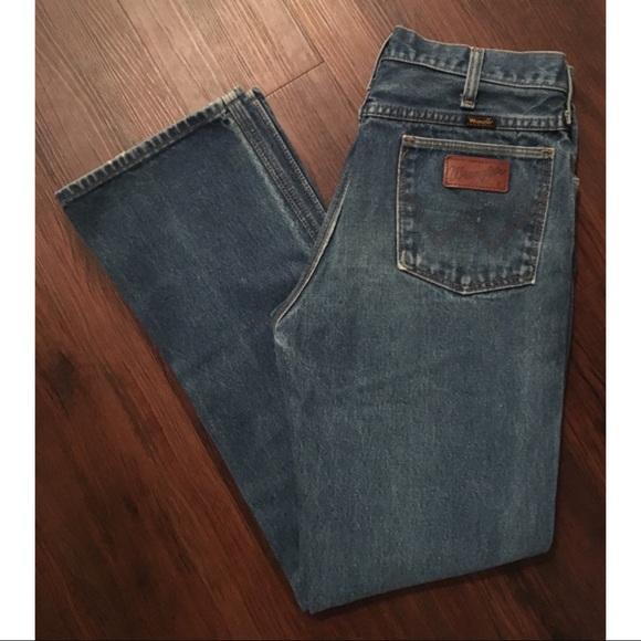4d107523 Vintage Black Label Wrangler Denim Sz 28. M_59f69af4522b4539140912cd