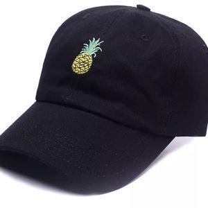 Accessories - NEW • pineapple snap back baseball cap