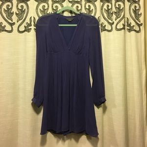 Elegant silk dress