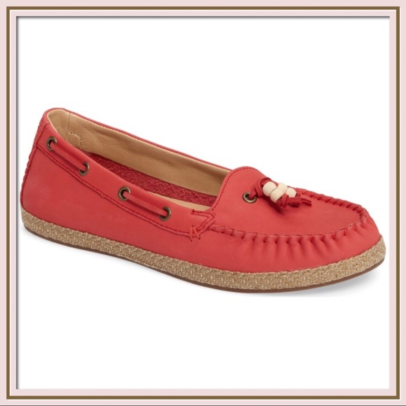 579a47e9852 UGG Suzette Loafers in Tango Pink Boutique