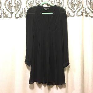 Black silk Armani dress