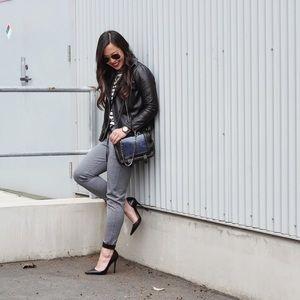 Zara Grey Marl Joggers