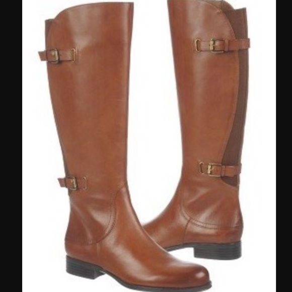 87988f97b45 Naturalizer Jamison Wide Calf Leather Boots