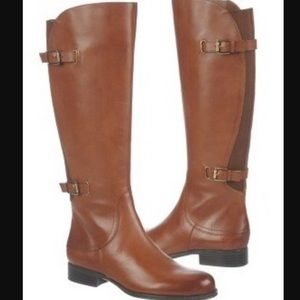 NIB! Naturalizer Jamison Wd. Leather Boots, Sz. 5