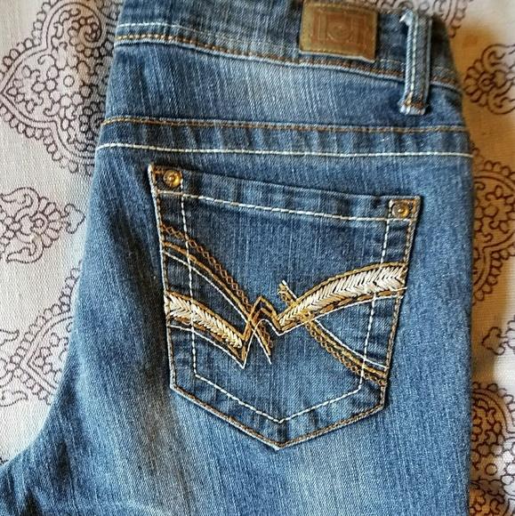 449306ae0e90b lei Denim - L.e.i. low rise boot cut jeans
