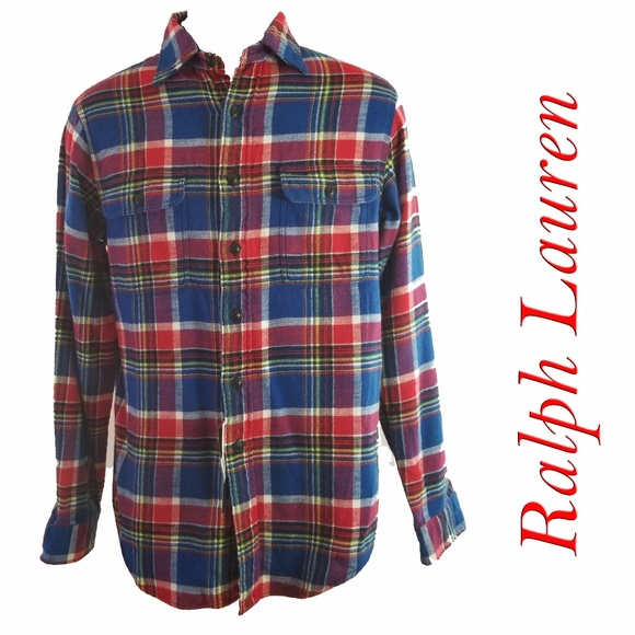 d5e4b7b07 Polo by Ralph Lauren Shirts | Nwt Polo Ralph Lauren Mens Flannel ...